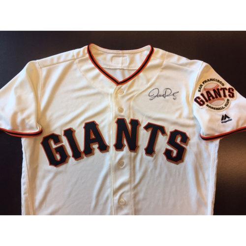 Photo of Giants End of Year Auction: Joe Panik Autographed Giants Jersey
