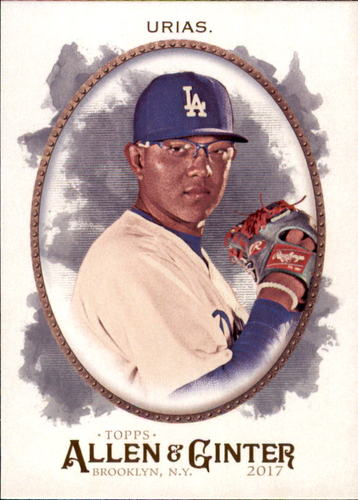 Photo of 2017 Topps Allen and Ginter #289 Julio Urias