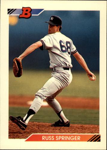 Photo of 1992 Bowman #308 Russ Springer RC