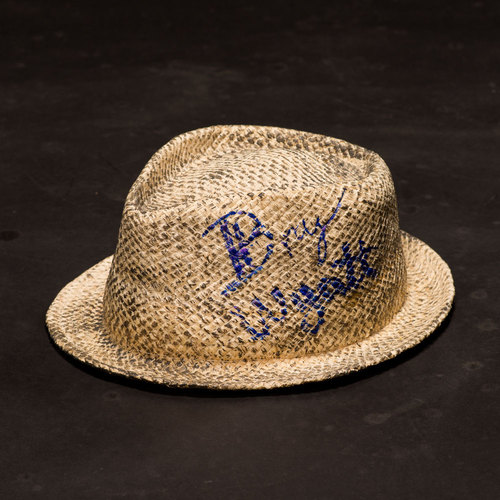 SIGNED & WORN Bray Wyatt Hat