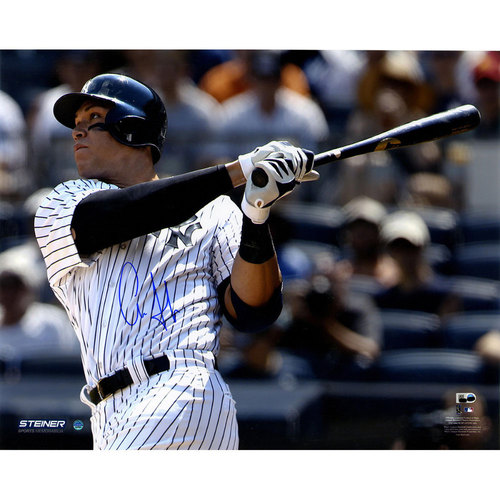 Photo of Aaron Judge Autographed First Career HR 8x10 Photo