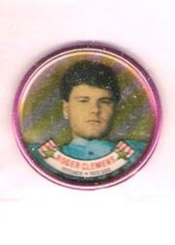Photo of 1988 Topps Coins #2 Roger Clemens