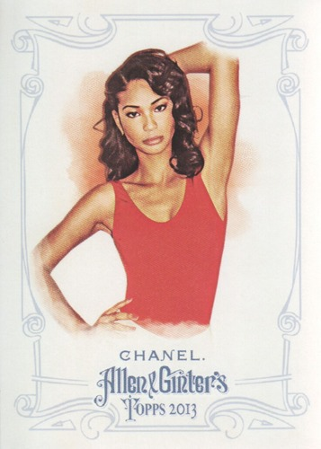 Photo of 2013 Topps Allen and Ginter #6 Chanel Iman