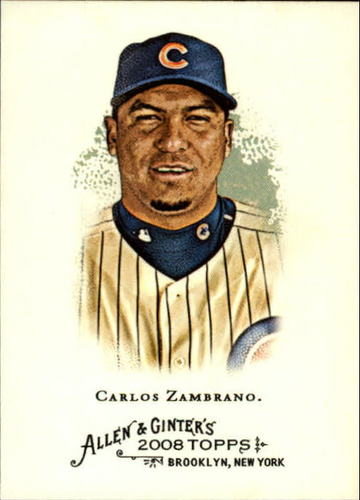 Photo of 2008 Topps Allen and Ginter #96 Carlos Zambrano