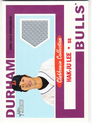 Photo of 2013 Topps Heritage Minors Clubhouse Collection Relics #HJL Hak-Ju Lee