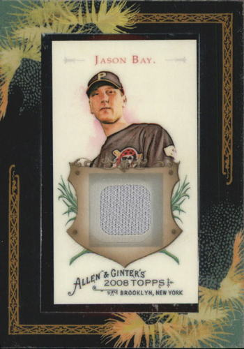 Photo of 2008 Topps Allen and Ginter Relics #JB Jason Bay Jsy C