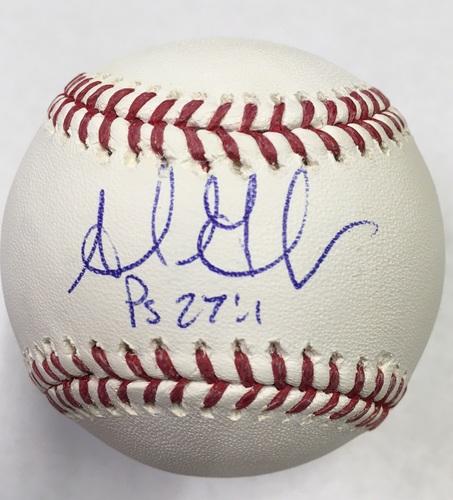 Photo of Adrian Gonzalez Autographed Baseball