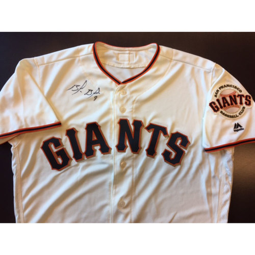 Photo of Giants End of Year Auction: Brandon Belt Autographed Giants Jersey