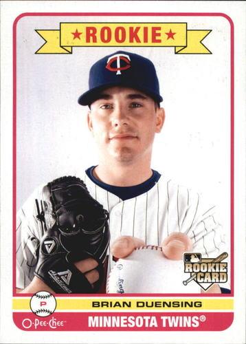 Photo of 2009 O-Pee-Chee #563 Brian Duensing Rookie Card Cubs post-season