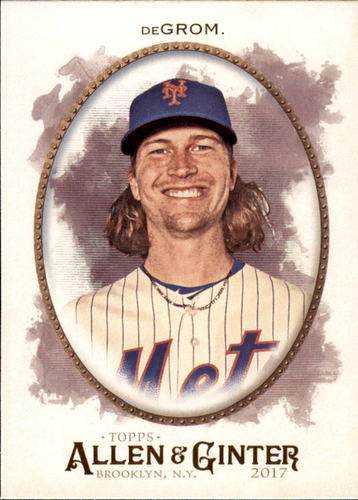 Photo of 2017 Topps Allen and Ginter #290 Jacob deGrom