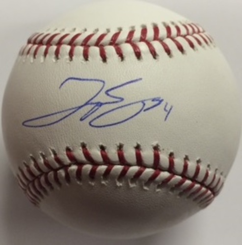 Photo of George Springer Autographed Baseball