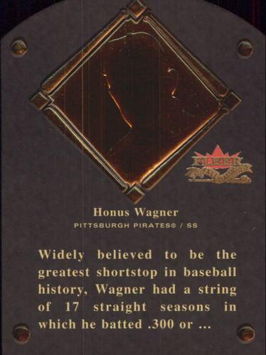 Photo of 2002 Fleer Fall Classics HOF Plaque #3 Honus Wagner/1936