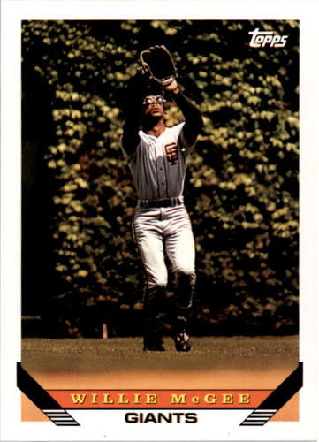 Photo of 1993 Topps #435 Willie McGee
