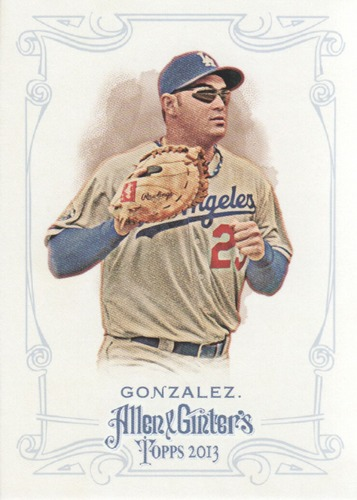 Photo of 2013 Topps Allen and Ginter #13 Adrian Gonzalez