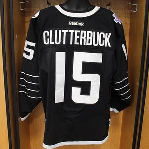 Cal Clutterbuck - Game Worn Third Jersey - 2015-16 Season - New York Islanders