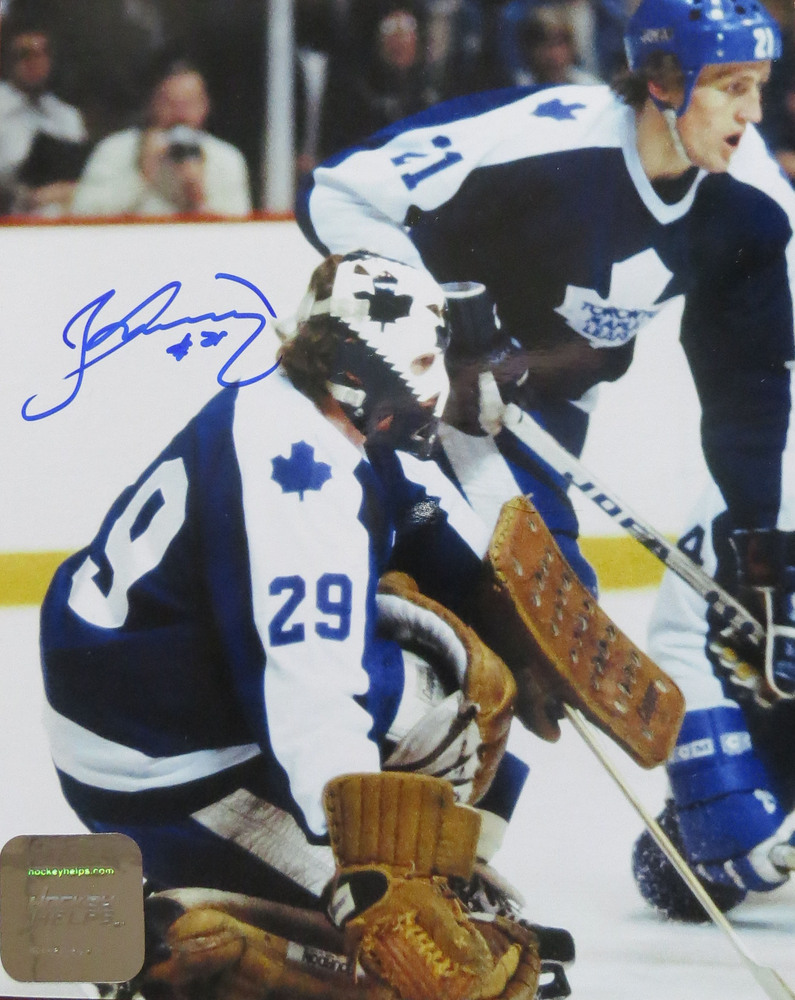 Borje Salming Signed Toronto Maple Leafs DEFENDOR 8x10