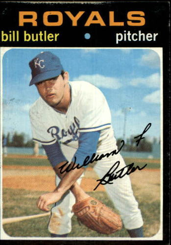 Photo of 1971 Topps #681 Bill Butler