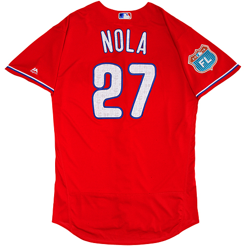 Photo of Philadelphia Phillies Spring Training Jersey - Aaron Nola