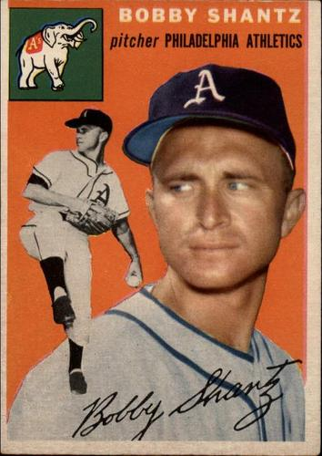 Photo of 1954 Topps #21 Bobby Shantz