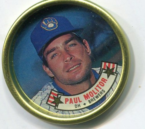 Photo of 1988 Topps Coins #20 Paul Molitor