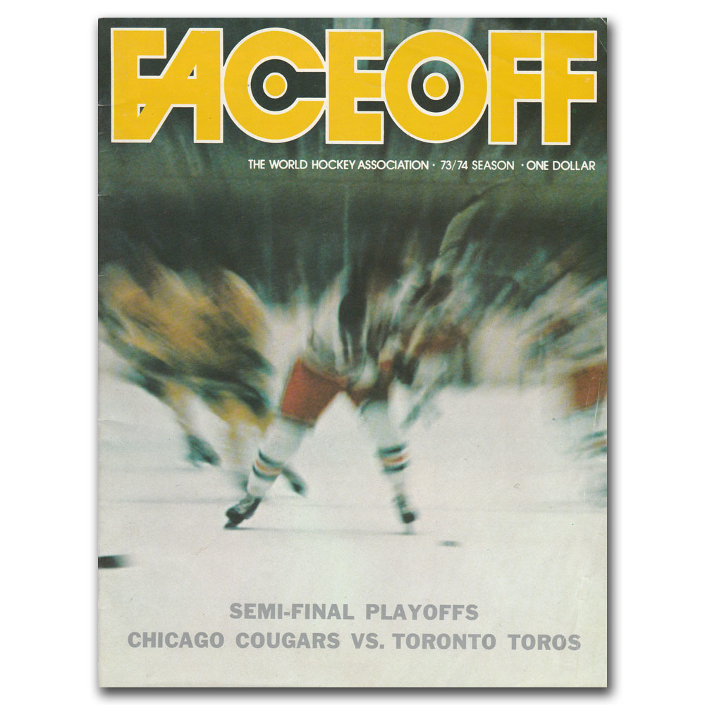 Chicago Cougars (WHA) Program - 1972-73