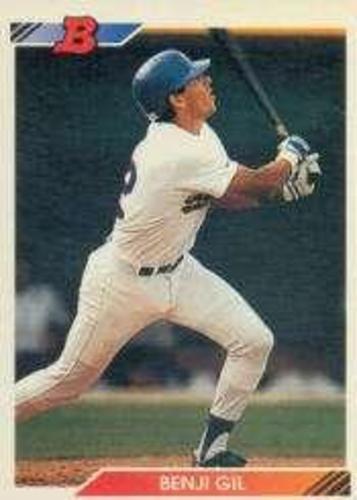 Photo of 1992 Bowman #339 Benji Gil RC