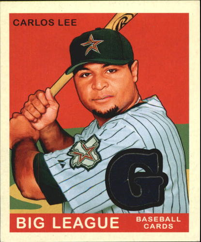 Photo of 2007 Upper Deck Goudey Memorabilia #23 Carlos Lee