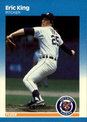 Photo of 1987 Fleer #155 Eric King