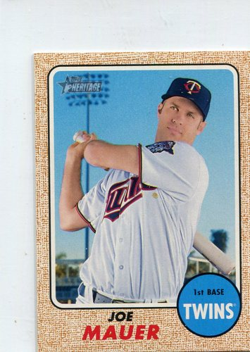 Photo of 2017 Topps Heritage Mini #220 Joe Mauer