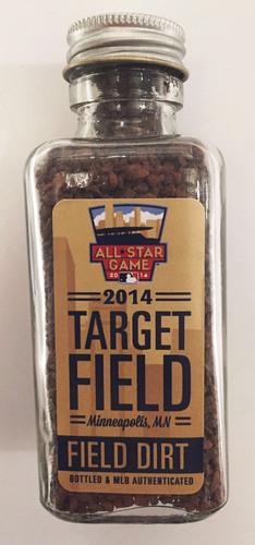 Photo of 2014 World Series Game-Used Dirt Jar - Target Field