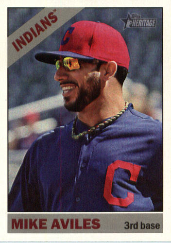 Photo of 2015 Topps Heritage #531 Mike Aviles