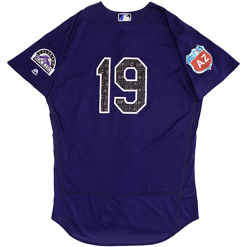 Photo of Colorado Rockies Spring Training Jersey - Charlie Blackmon