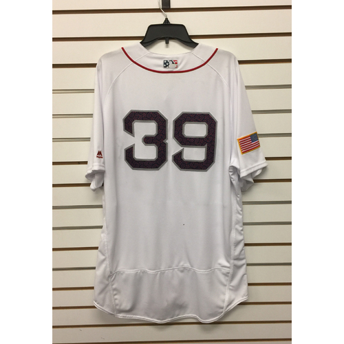 Carson Smith Team-Issued 4th of July Home Jersey