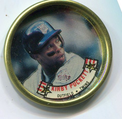 Photo of 1988 Topps Coins #23 Kirby Puckett