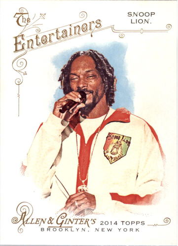 Photo of 2014 Topps Allen and Ginter #23 Snoop Lion