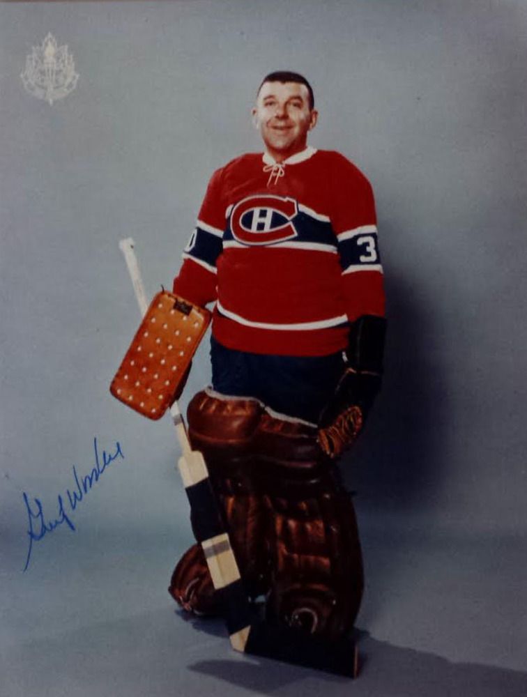 Gump Worsley deceased autographed Montreal Canadiens 8x10 Photo