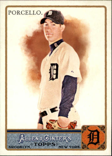 Photo of 2011 Topps Allen and Ginter #194 Rick Porcello