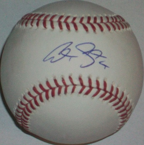 Photo of Alex Gordon Autographed Baseball