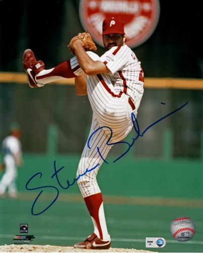 Photo of Steve Bedrosian Autographed 8x10