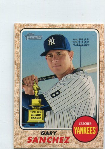 Photo of 2017 Topps Heritage Mini #444 Gary Sanchez