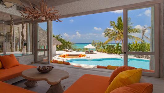 6-NIGHT EXPERIENCE AT SONEVA FUSHI, A LUXURY BEACH RESORT, IN THE MALDIVES - PACKA...