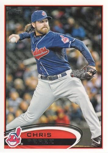 Photo of 2012 Topps #436 Chris Perez