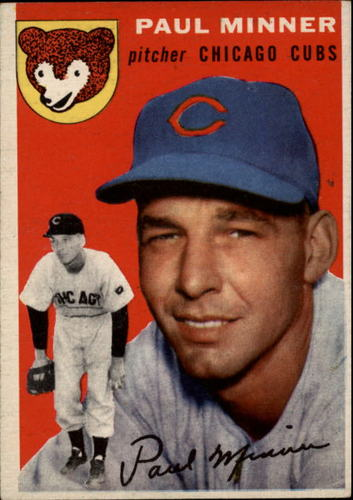 Photo of 1954 Topps #28 Paul Minner