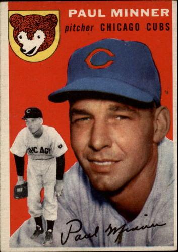 Photo of 1954 Topps #28 Paul Minner