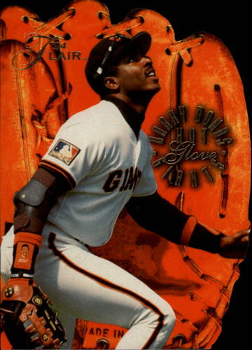 Photo of 1994 Flair Hot Gloves #1 Barry Bonds