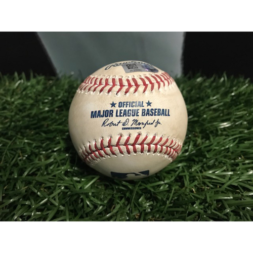 Photo of Game-Used Baseball: Gary Sanchez