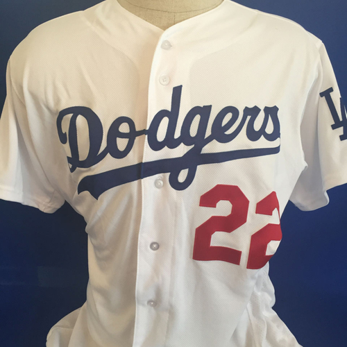 Photo of UMPS CARE AUCTION: Clayton Kershaw Dodgers Jersey Size 48