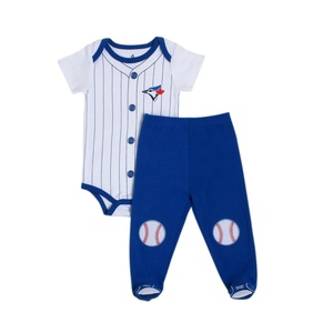 Toronto Blue Jays Newborn/Infant 2 Piece Pajama Set by Snugabye