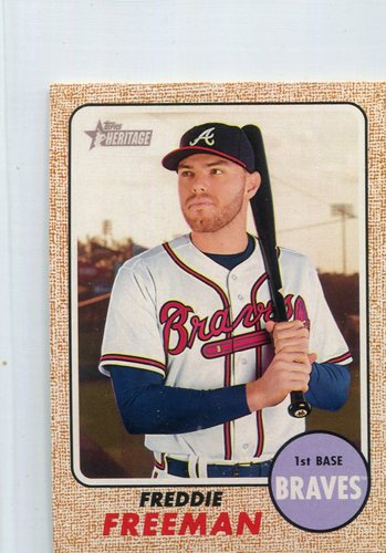 Photo of 2017 Topps Heritage Mini #449 Freddie Freeman