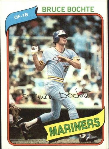 Photo of 1980 Topps #143 Bruce Bochte DP